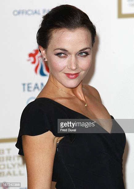 Victoria Pendleton attends the British Olympic Ball on November 30, 2012 in London, England.