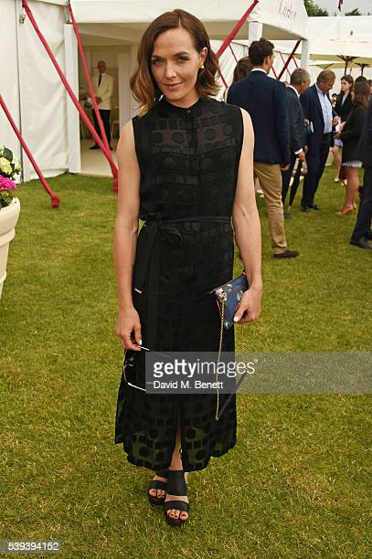 Victoria Pendleton attends The Cartier Queen's Cup Final at Guards Polo Club on June 11 2016 in Egham England