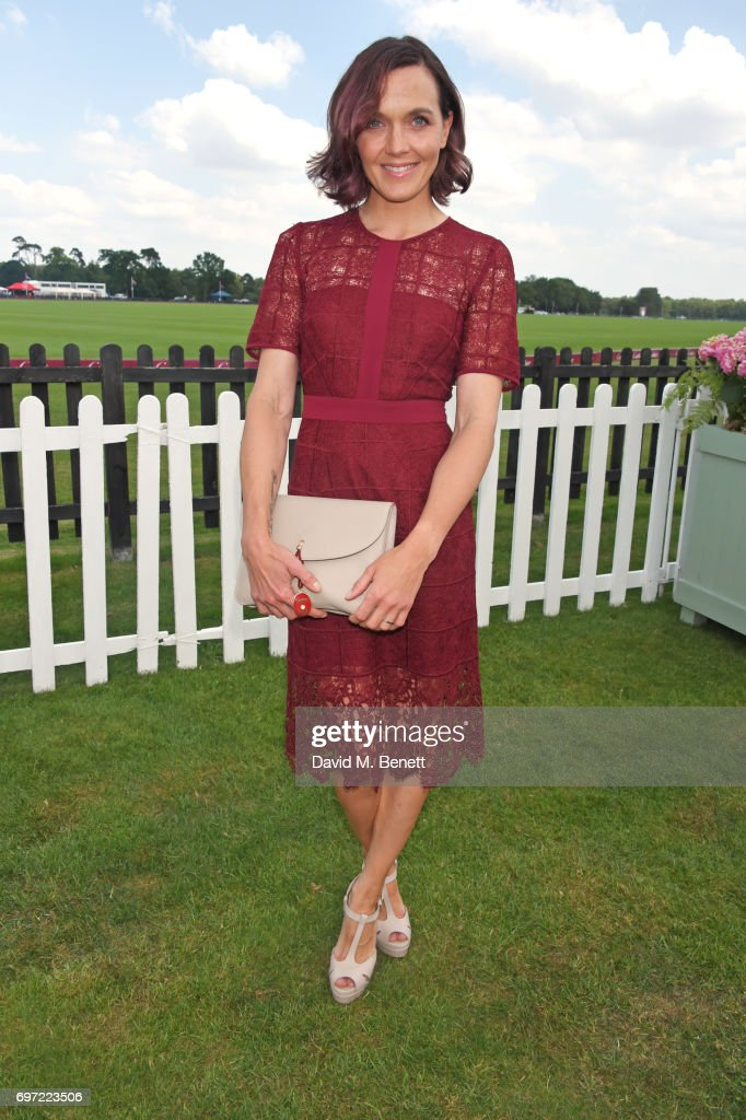 Victoria Pendleton attends the Cartier Queen's Cup Polo final at Guards Polo Club on June 18, 2017 in Egham, England.
