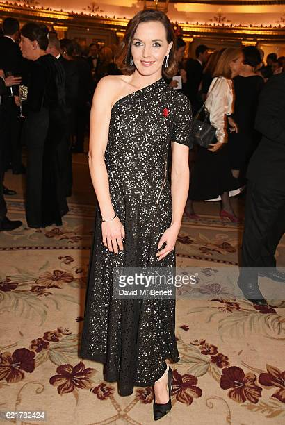 Victoria Pendleton attends The Cartier Racing Awards 2016 at The Dorchester on November 8 2016 in London England