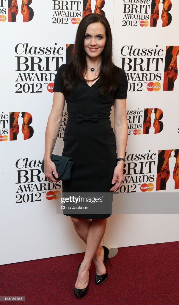 Victoria Pendleton attends the Classic BRIT Awards at the Royal Albert Hall on October 2, 2012 in London, England.