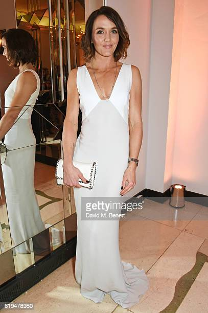Victoria Pendleton attends the Harper's Bazaar Women of the Year Awards 2016 at Claridge's Hotel on October 31 2016 in London England