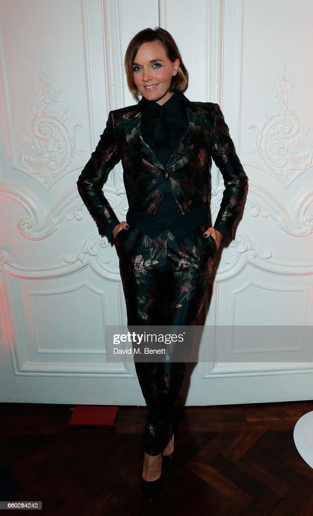 Victoria Pendleton attends the launch of the Esquire Townhouse with Dior at No 11 Carlton House Terrace on October 11, 2017 in London, England.