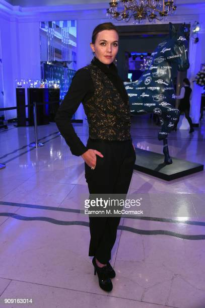 Victoria Pendleton attends the Longines World's Best Racehorse Longines World's Best Horserace ceremony hosted by Longines and IFHA at Claridge's...