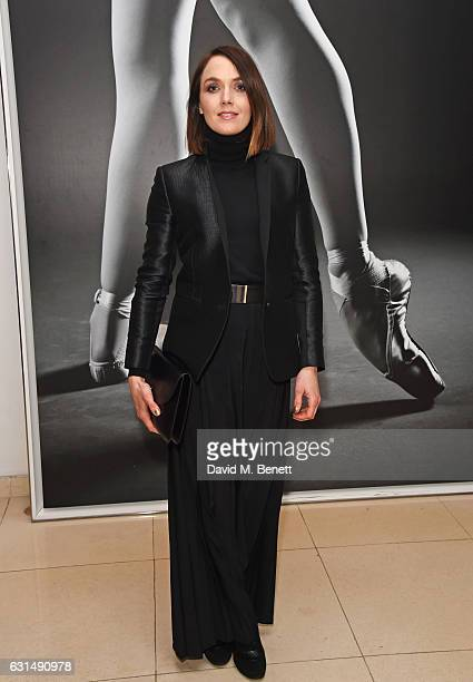 Victoria Pendleton attends the opening night reception of the English National Ballet's production of 'Giselle' hosted by St Martins Lane on January...