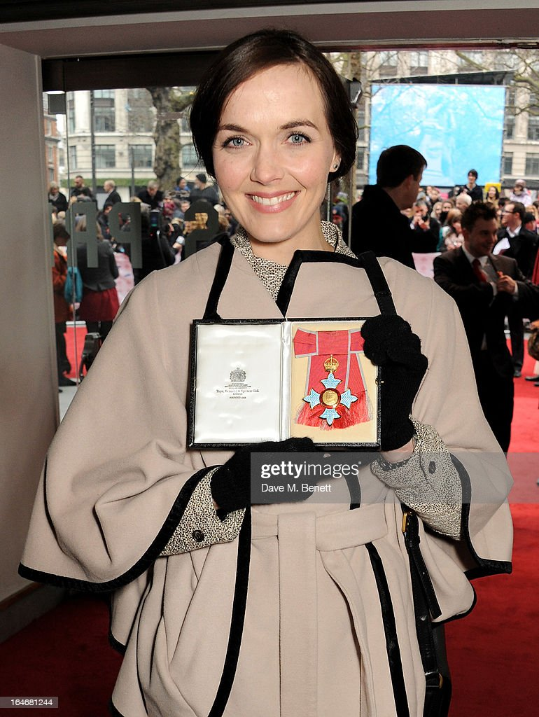 Victoria Pendleton attends The Prince's Trust & Samsung Celebrate Success Awards at Odeon Leicester Square on March 26, 2013 in London, England.