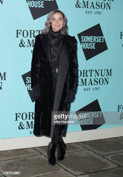 Victoria Pendleton attends the Skate At Somerset House With Fortnum Mason VIP launch party on November 12 2019 in London England