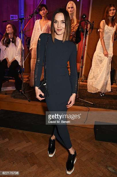 Victoria Pendleton attends the Stella McCartney Menswear launch and Women's Spring 2017 collection presentation at Abbey Road Studios on November 10...