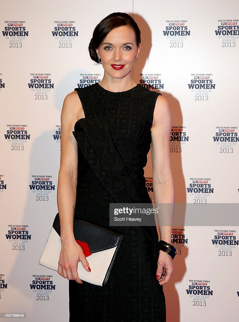 Victoria Pendleton attends The Sunday Times & Sky Sports Sportswomen of the Year awards at Sky on December 5, 2013 in Isleworth, England.