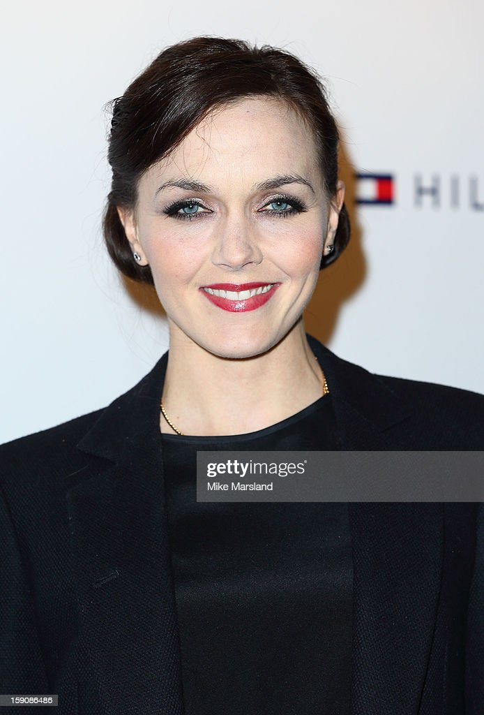 Victoria Pendleton attends the Tommy Hilfiger & Esquire event at the London Collections: MEN AW13 at on January 7, 2013 in London, England.