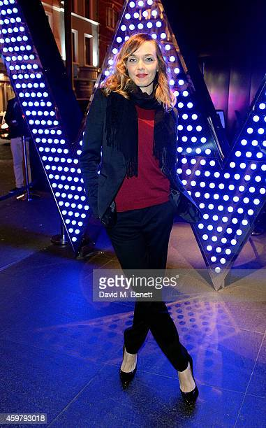 Victoria Pendleton attends the W London Leicester Square World AIDS Day Fundraising Party at Wyld on December 1 2014 in London England