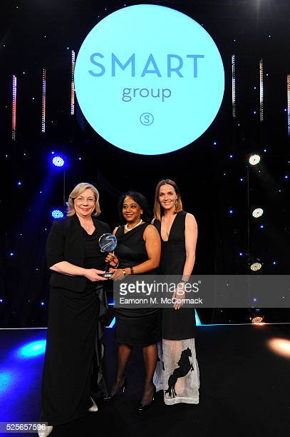 Victoria Pendleton presents Campaign of the Year in association with SMART Group to Sport England This Girl Can at the BT Sport Industry Awards 2016...