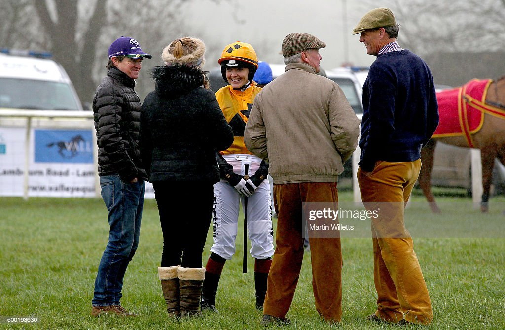 Point to Point Racing at Barbury Castle : News Photo