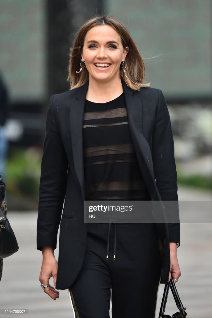GBR: London Celebrity Sightings -  April 24, 2019