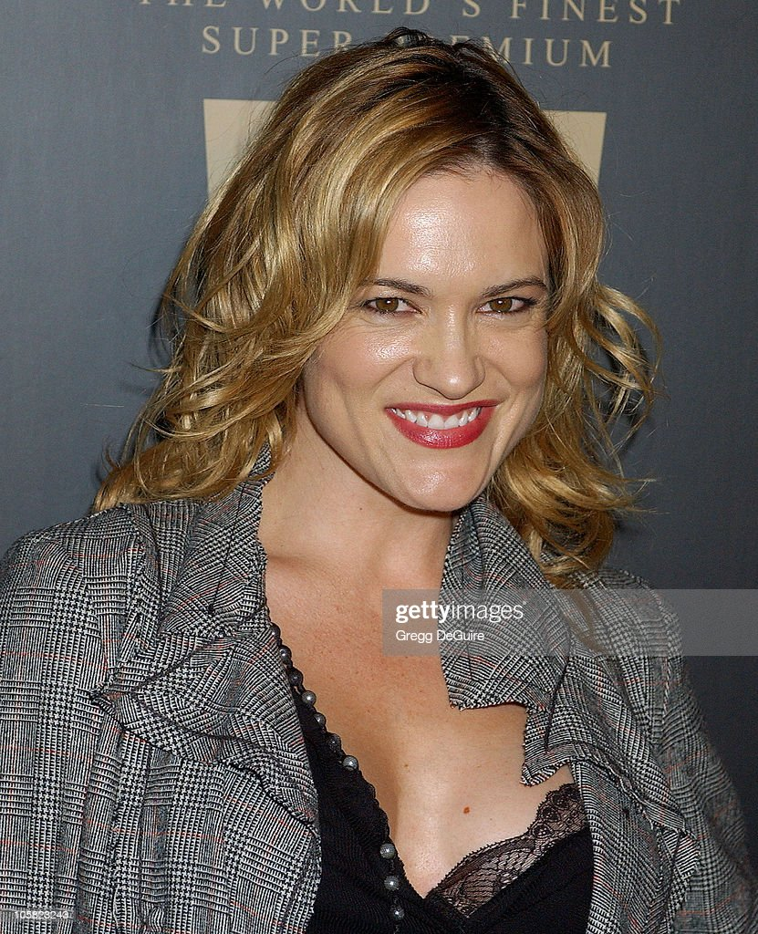 Victoria Pratt during Launch Party for Trump Vodka - Arrivals at Les Deux in Hollywood, California, United States.