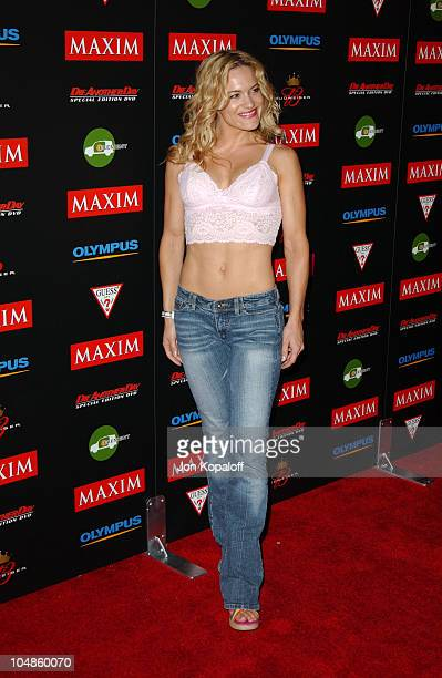 Victoria Pratt during Maxim Magazine's Annual Hot 100 Party at 1400 Ivar in Hollywood CA United States