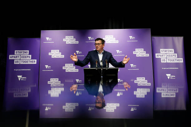 AUS: Premier Daniel Andrews Gives Coronavirus Update As Victoria Records Just One New Case Of COVID-19