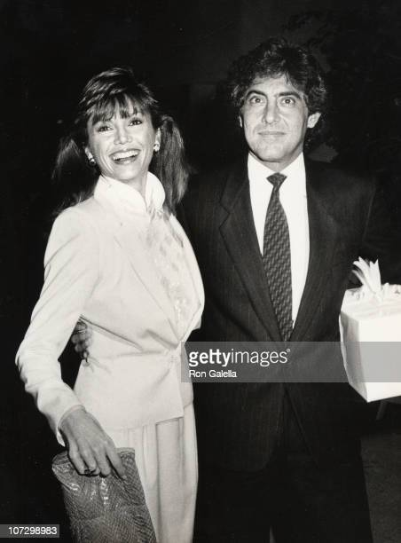Victoria Principal and Dr Harry Glassman during Victoria Principal and Dr Harry Glassman sighting at Heidi Hagman's Wedding October 29 1983 at Larry...