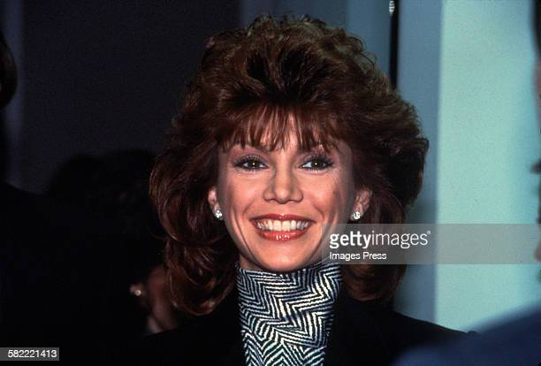 Victoria Principal circa 1984 in Washington DC