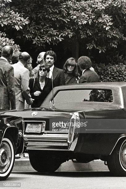Victoria Principal during Jim Davis Memorial May 1 1991 at Lawn Memorial Park in Glendale California United States