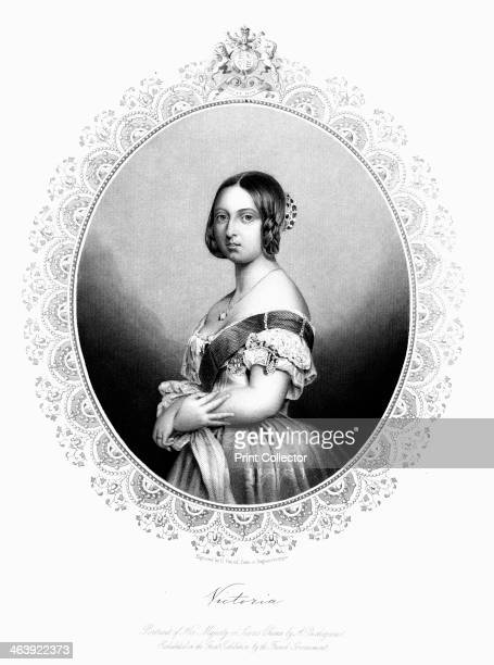 Victoria Queen of Great Britain and Ireland c1850 Victoria became Queen in 1837 and Empress of India in 1877 Her reign the longest of any British...