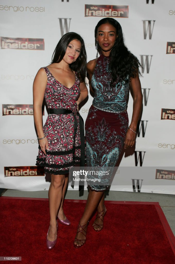 """Sergio Rossi And W Magazine Launch Party For Paramount Domestic Television's """"The Insider"""" : News Photo"""