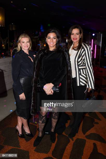 Victoria Rees Krissy Marsh and Nicole O'Neill arrives ahead of a VIP screening of GIRLS TRIP at Event Cinemas George Street on August 30 2017 in...