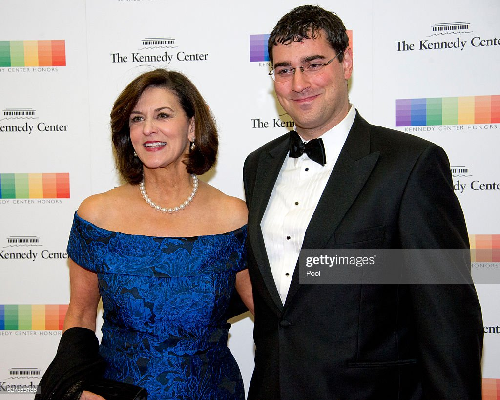 Victoria Reggie Kennedy and guest arrive for the formal Artist's Dinner honoring the recipients of the 39th Annual Kennedy Center Honors hosted by United States Secretary of State John F. Kerry at the U.S. Department of State on December 3, 2016 in Washington, D.C. The 2016 honorees are: Argentine pianist Martha Argerich; rock band the Eagles; screen and stage actor Al Pacino; gospel and blues singer Mavis Staples; and musician James Taylor.