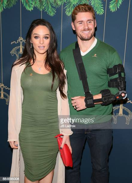 Victoria Renee Plummer and Linc Hand attend the Brooks Brothers holiday celebration with St Jude Children's Research Hospital at Brooks Brothers...