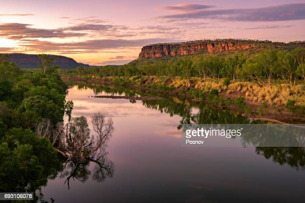 victoria river - northern territory australia stock photos and pictures