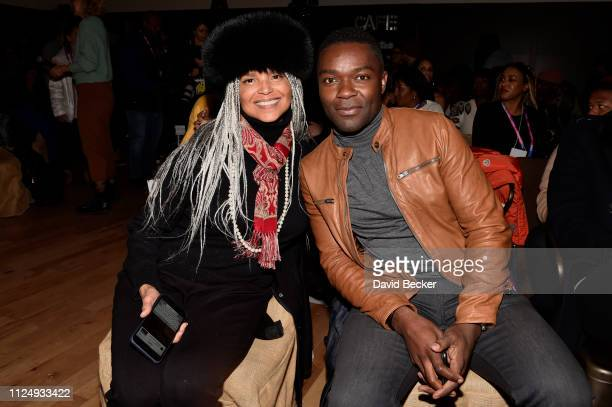 Victoria Rowell and David Oyelowo attend David Makes Man Clips and Conversations at the Filmmaker Lodge on January 25 2019 in Park City Utah