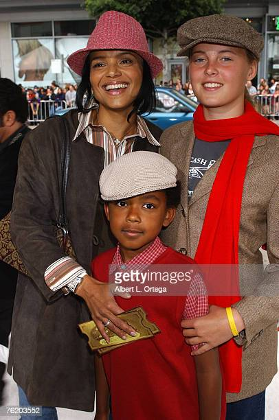 Victoria Rowell daughter Maya and son Jasper