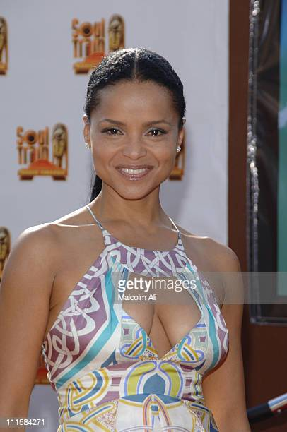 Victoria Rowell during 20th Annual Soul Train Music Awards Arrivals in Los Angeles California United States