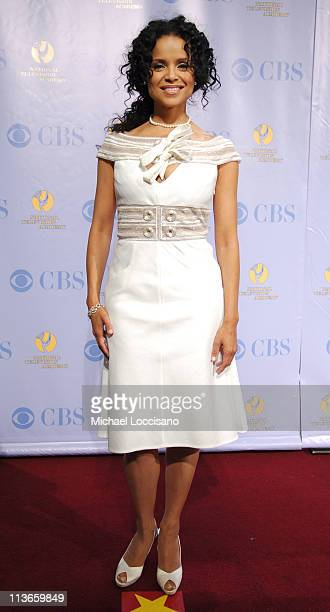 Victoria Rowell during 32nd Annual Daytime Emmy Awards Press Room at Radio City Music Hall in New York City New York United States
