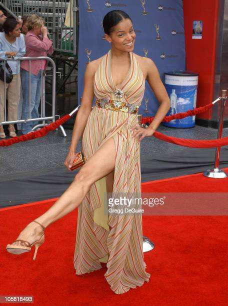 Victoria Rowell during 33rd Annual Daytime Emmy Awards Arrivals at Kodak Theatre in Hollywood CA United States