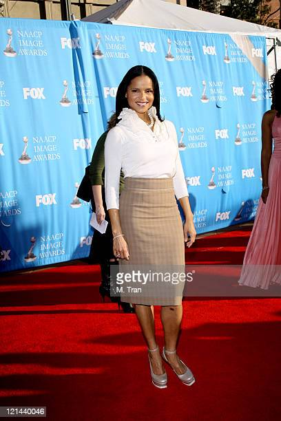 Victoria Rowell during 38th Annual NAACP Image Awards Arrivals at Shrine Auditorium in Los Angeles California United States