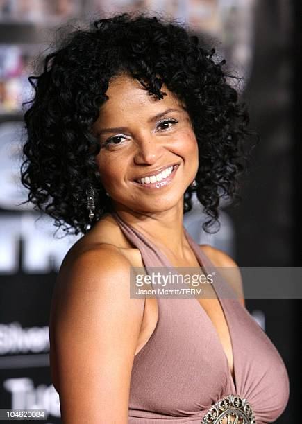 Victoria Rowell during BET 25th Anniversary Show Arrivals at Shrine Auditorium in Los Angeles California United States