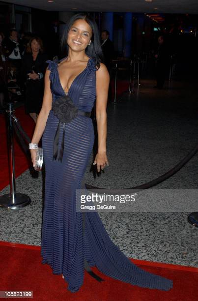 Victoria Rowell during Paramount Pictures Hosts 2007 Golden Globe Award AfterParty Arrivals at Beverly Hilton Hotel in Beverly Hills California...