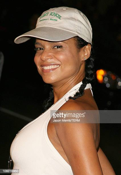 Victoria Rowell during Snakes on a Plane Los Angeles Premiere Arrivals at GraumanIs Chinese Theatre in Hollywood California United States