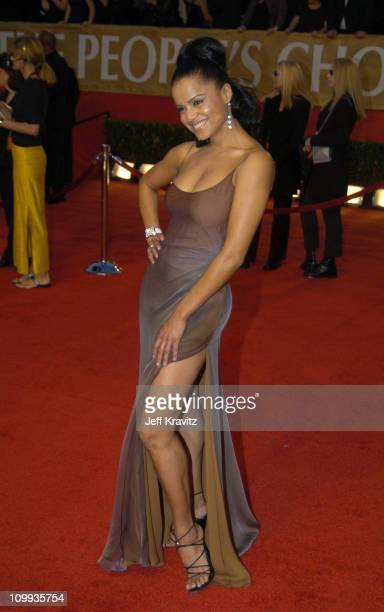 Victoria Rowell during The 30th Annual People's Choice Awards Arrivals at Pasadena Civic Auditorium in Pasadena California United States