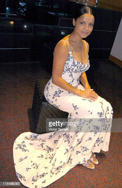 Victoria Rowell during The Best of Italy Designer Showroom Day 3 at Le Meridian Hotel in Beverly Hills California United States