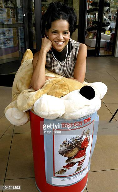 Victoria Rowell during The Young The Restless Stars Make an Appearance at Toys For Tots Toy Drive at Fao Schwartz at The Grove in Los Angeles...