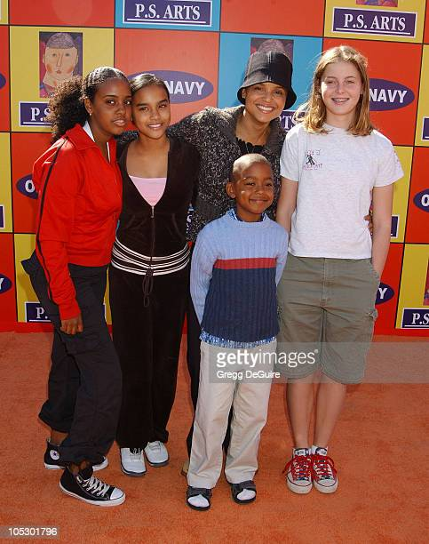 Victoria Rowell friends Bethel Giddy son Jasper and daughter Maya
