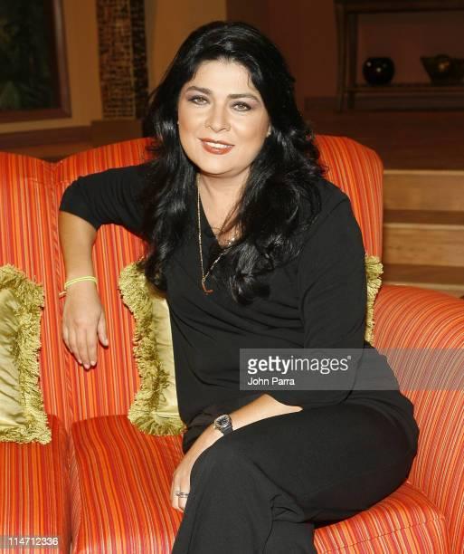 Victoria Ruffo during Escandalo TV Celebrates a 5th Anniversary at Telefutura Studios in Miami Florida United States