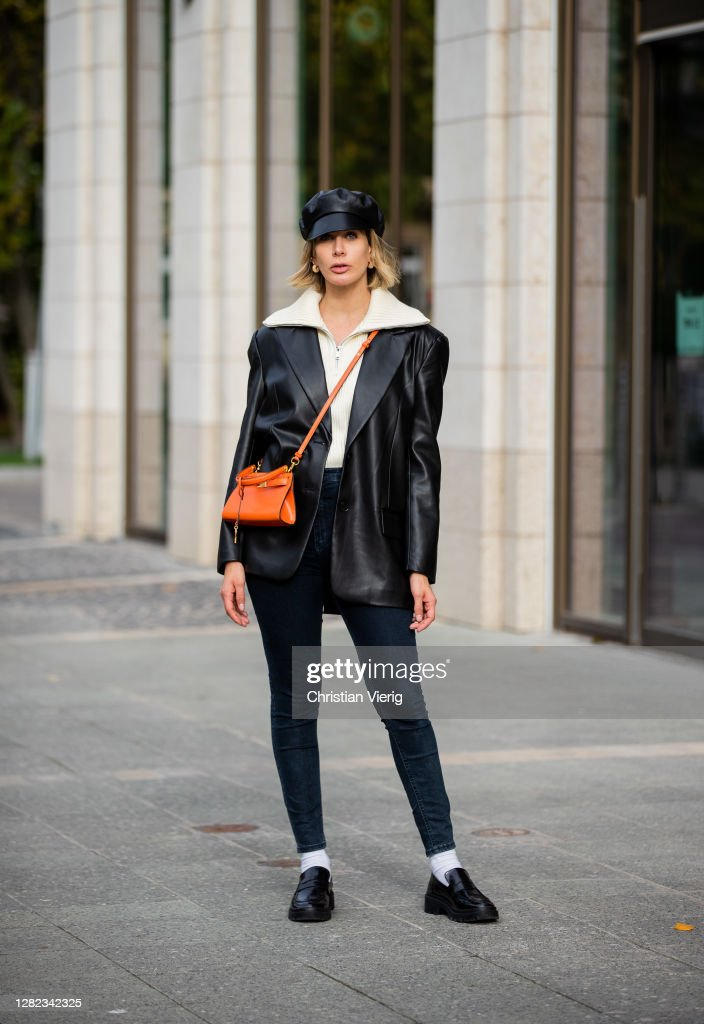 Street Style - Frankfurt - October 26, 2020 : News Photo