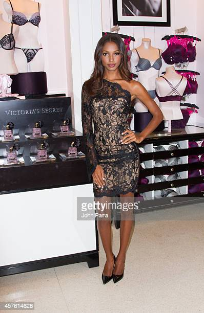 c85803419d1de Victoria Secret Angel Jasmine Tookes Launches The New Scandalous Fragrance  And Bra Collection on October 21