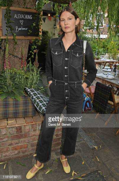Victoria Sekrier attends the VIP London launch of the Barbour by ALEXACHUNG collection at The Albion on June 20 2019 in London England