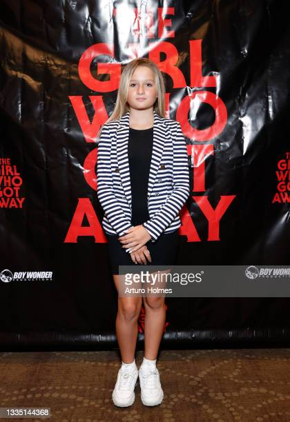 Victoria Semenenko attends The Girl Who Got Away Film Premiere at AMC Theater on August 19, 2021 in New York City.