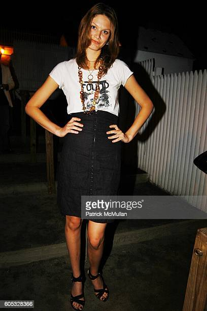 Victoria Setrier attends DJ Cassidy and Fonzworth Bentley Host BUNNY CHOW Sunday at CAIN Southampton Club on May 28 2006 in Southampton NY