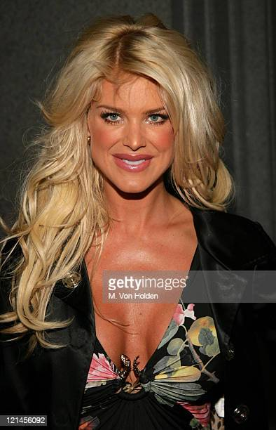 Victoria Silvsted during Cipriani's Wall Street Concert Series at Cipriani's Wall Street in New York New York United States